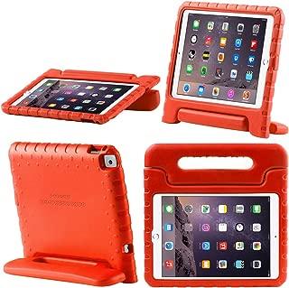 i-BLASON Funda para iPad 9.7 2018/2017, para Apple iPad 9.7 Pulgadas 2017/2018 Funda para niños [ArmorBox KIDO Series] Ligera Super Protectora Convertible Stand Cover (Rojo)
