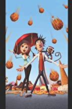 Journal: A cloudy with a chance of meatballs themed notebook journal for your everyday needs