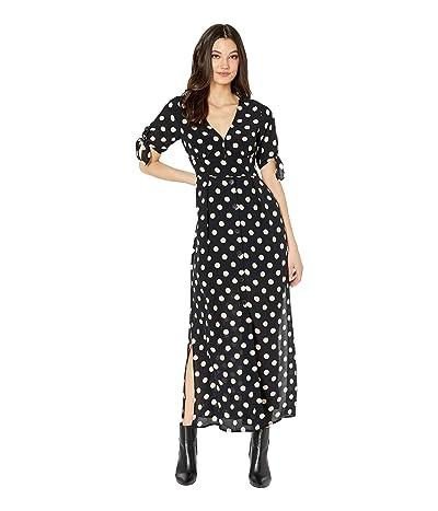Sanctuary Love Worn Button Front Dress (Cherry Blossom Dot) Women