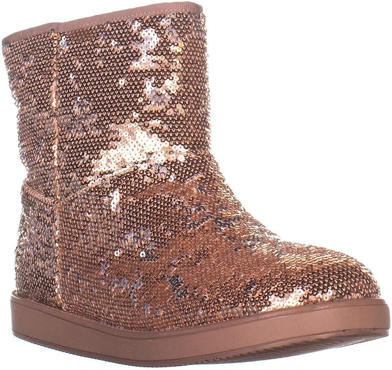 GUESS G Asella Short Winter Boots, Medium Pink Texture