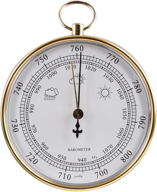 half Weather Station Fishing Atmospheric Hig Gauge Barometer Pressure Max 44% OFF