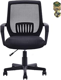COSTWAY 现代人体工程学中背网格电脑办公椅 SpiritOne + 礼品椰壳按摩球