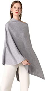 Best grey knitted poncho Reviews
