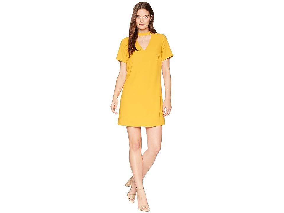 Bishop + Young Sasha Shift Dress (Mustard) Women