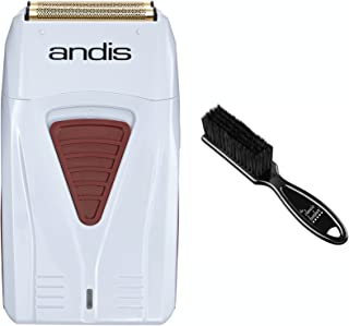 Andis 17150 Hypo-allergenic Profoil Lithium Shaver & The Classic Barber Blade Brush (Shaver with one brush)