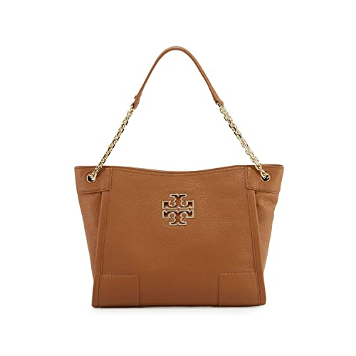 4082718c0834 Tory Burch Britten Small Slouchy Tote (Bark)