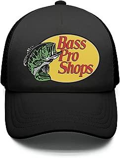 Street Dancing Adjustable Mesh Unisex Fishing-Fish-Bass-Pro-Shops-Logo-Trucker Hat Caps