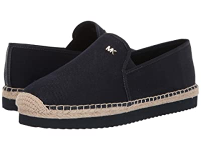 MICHAEL Michael Kors Hastings Espadrille (Admiral Small Weave Canvas) Women