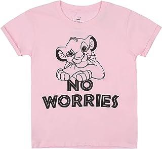 Disney Girl's LION KING NO WORRIES T-Shirt