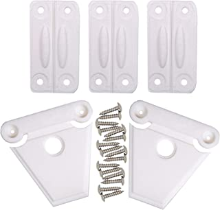 NeverBreak Igloo Cooler Replacement Hinge & Latch Set | High Strength Igloo Replacement Parts | Set of 3 Cooler Hinges and 2 Cooler Latches