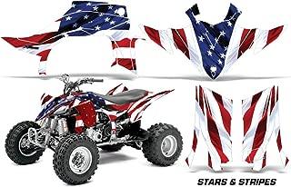 Yamaha YFZ 450 R/SE 2014-2016 ATV All Terrain Vehicle AMR Racing Graphic Kit Decal STARS AND STRIPES