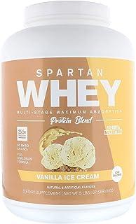 Sparta Nutrition Spartan Whey Ultra Premium Protein Blend, Vanilla Ice Cream, 5lb