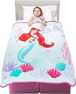 "Franco Kids Bedding Soft Plush Microfiber Throw, 46"" x 60"", Disney Princess"