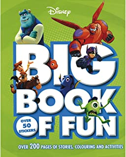 Disney Big Book of Fun: Over 200 Pages of Stories, Colouring and Activities, with Over 50 Stickers