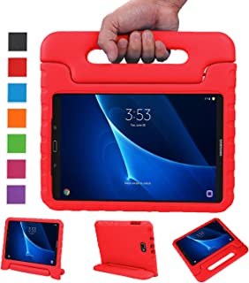 NEWSTYLE Samsung Galaxy Tab A 10.1 Kids Case - Shockproof Light Weight Protection Handle Stand Case for Samsung Galaxy Tab A 10.1 Inch (SM-T580/T585) Tablet 2016 Release (Red) Not Fit Other Models