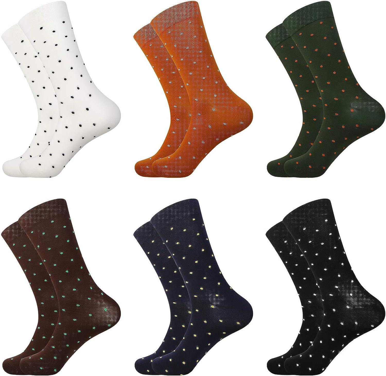 Natural Feelings Mens Dress Socks Patterned Crew Colorful Novelty Funny Casual Socks for Men