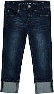 Esprit Boys Stretch Jeans With Fixed Turn-Up Hems