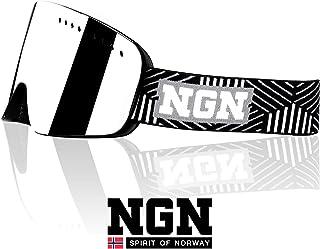 3c97e54c22 NGN - Gafas de esquí y Snowboard, protección UV, Sistema de Cambio para  Insertar