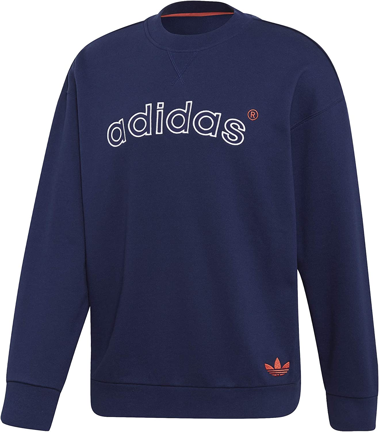 Adidas Originals Arc Logo Applique Crew Sweat