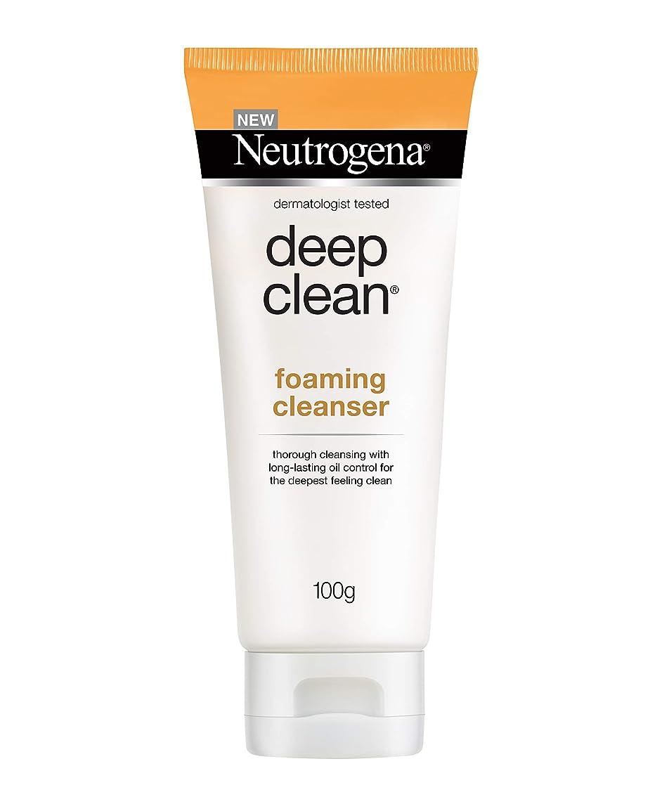 台無しに論理ジャンクションNeutrogena Deep Clean Foaming Cleanser, 100g