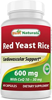 Best Naturals Red Yeast Rice with COQ10 60 Capsules