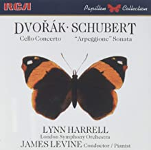 Dvorak: Cello Concerto in B Minor Op. 104; Schubert: Sonata in A Minor D.821 Arpeggione
