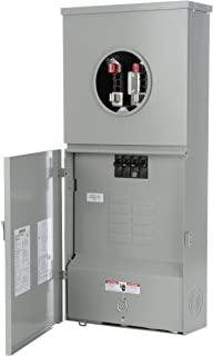Siemens MC0816B1200CT 8 Space, 16 Circuit, 200-Amp Main Breaker Meter Combination With A Ring Type Cover