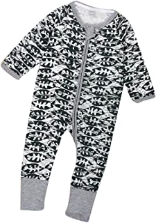 f4c517a3e Amazon.com  Beige - Footies   Footies   Rompers  Clothing