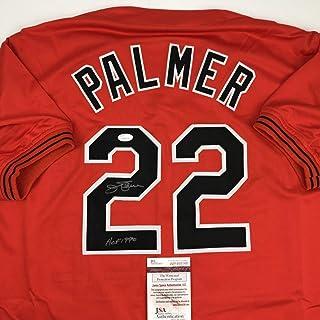 1b390d889 Autographed Signed Jim Palmer HOF 1990 Baltimore Orange Baseball Jersey JSA  COA