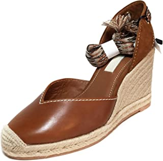 Uterque Women Tied Leather Wedges 4150/051
