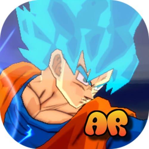 [AR] Goku SSJ Blue Virtual Action Figure!