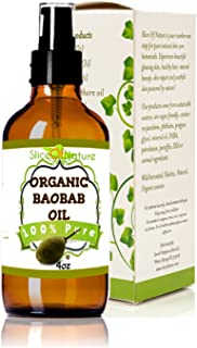 Slice Of Nature ORGANIC BAOBAB OIL - Cold pressed, pure 4 oz