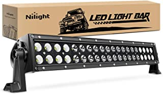 "Nilight 22"" 120w LED Light Bar Flood Spot Combo Driving Lights Fog Lamp off road LED lights for SUV ATV Truck 4x4 Boat ,2 ..."