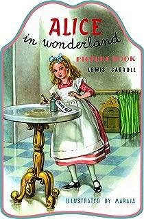 Alice In Wonderland Picture Book (Shape Books)