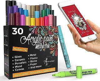 Best paint pens for wine glasses Reviews