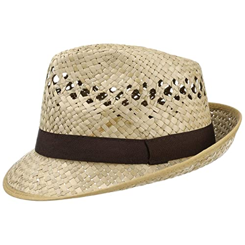 afbaf32c40cf14 Classic Straw Hat (Trilby) Men and Women | Hat in a Natural Colour