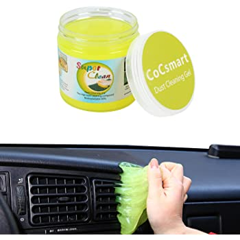 CoCsmart Cleaning Gel for Car Detailing Tools Keyboard Cleaner Automotive Dust Air Vent Interior Detail Removal Detailing Putty Universal Dust Cleaner for Auto Laptop Home