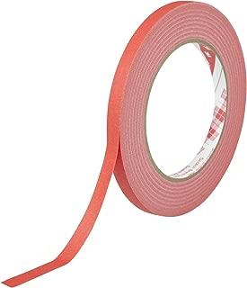 3M スコッチ クレープマスキングテープ 247 赤 9mm幅x50M 247N RED 9X50