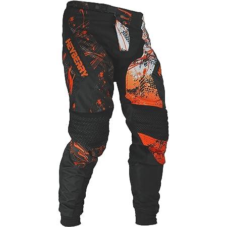Heyberry Motocross Enduro Quad Hose Schwarz Orange Gr Xl Auto