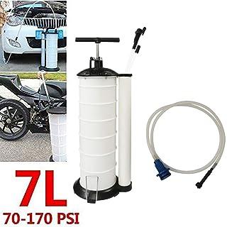 AWZSDF Manual 7 Liter Oil Changer Vacuum Fluid Extractor Evacuator Pump Tank Remover for Automotive