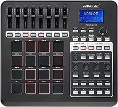 Worlde Portable Panda 200 MIDI Controller USB 16 Pads with LCD Backlight Display