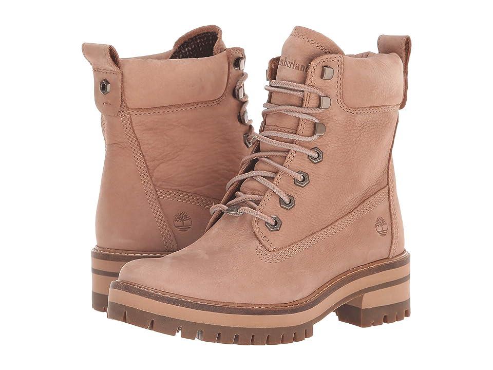 Timberland Courmayeur Valley 6 Boot (Medium Beige Nubuck) Women