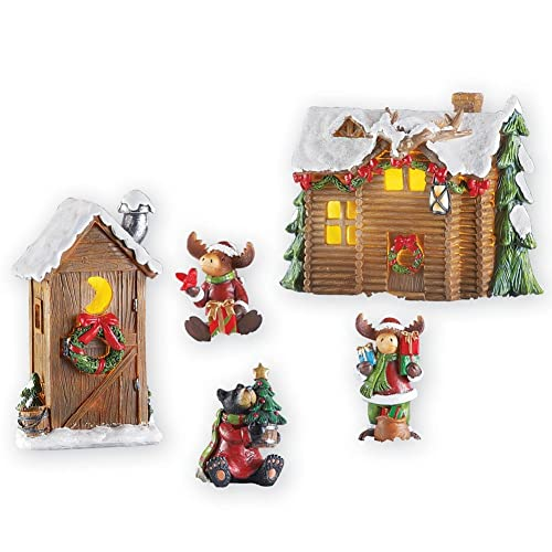 Moose Outdoor Christmas Yard Decorations Amazon Com