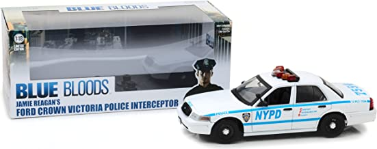 1:18 Blue Bloods (2010-Current TV Series) - Jamie Reagan's 2001 Ford Crown Victoria Interceptor New York City Police Dept (NYPD) - 13513