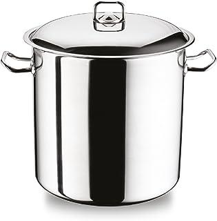 Arian Gastro grandes profundo olla olla de acero inoxidable con base para cocina de inducción 21 L