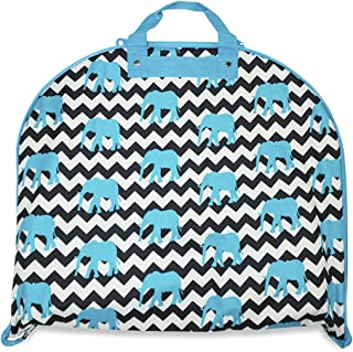 Chevron Zig Zag Hanging Garment Bags (40-inch)