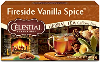 Sponsored Ad - Celestial Seasonings Herbal Tea, Fireside Vanilla Spice, 20 Count (Pack Of 6)