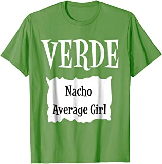 VERDE - Hot Packet Halloween Taco Costume T-Shirt