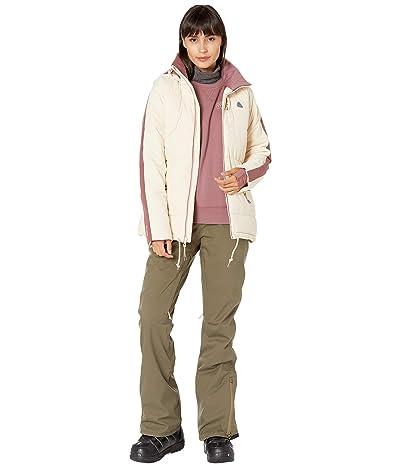 Burton Keelan Jacket (Creme Brulee/Rose Brown) Women