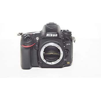 Nikon D610 24.3 MP CMOS FX-Format Digital SLR Camera (Body Only) (Renewed)